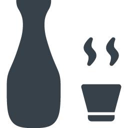 日本酒 熱燗の無料アイコン素材 2 商用可の無料 フリー のアイコン素材をダウンロードできるサイト Icon Rainbow