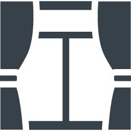 カーテン 窓の無料アイコン素材 商用可の無料 フリー のアイコン素材をダウンロードできるサイト Icon Rainbow