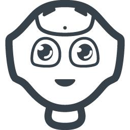 ロボットの顔のアイコン 商用可の無料 フリー のアイコン素材をダウンロードできるサイト Icon Rainbow