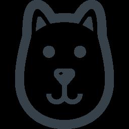 犬の無料アイコン素材 1 商用可の無料 フリー のアイコン素材をダウンロードできるサイト Icon Rainbow