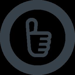 バッチグーの手のサインアイコン素材 3 商用可の無料 フリー のアイコン素材をダウンロードできるサイト Icon Rainbow