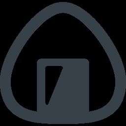 おにぎりの無料アイコン素材 2 商用可の無料 フリー のアイコン素材をダウンロードできるサイト Icon Rainbow