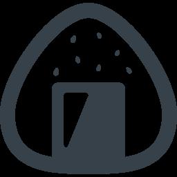 ごま塩おむすびの無料アイコン素材 商用可の無料 フリー のアイコン素材をダウンロードできるサイト Icon Rainbow