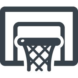 バスケットゴールの無料アイコン素材 商用可の無料 フリー のアイコン素材をダウンロードできるサイト Icon Rainbow