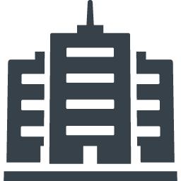 会社 企業の建物アイコン素材 3 商用可の無料 フリー のアイコン素材をダウンロードできるサイト Icon Rainbow