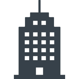 会社 ビルの建物アイコン素材 1 商用可の無料 フリー のアイコン素材をダウンロードできるサイト Icon Rainbow