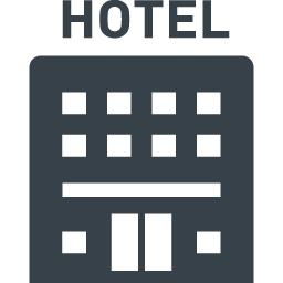 ホテルの建物アイコン素材 商用可の無料 フリー のアイコン素材をダウンロードできるサイト Icon Rainbow