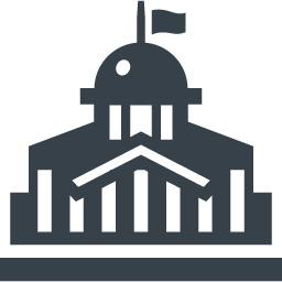 ミュージアム 役所の建物アイコン素材 商用可の無料 フリー のアイコン素材をダウンロードできるサイト Icon Rainbow