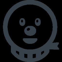 イケメンの雪だるまのアイコン素材 商用可の無料 フリー のアイコン素材をダウンロードできるサイト Icon Rainbow