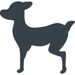 犬の横シルエット素材 商用可の無料 フリー のアイコン素材をダウンロードできるサイト Icon Rainbow