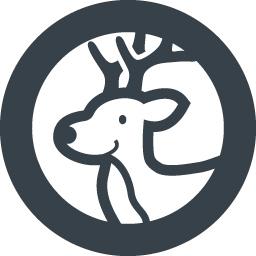 クリスマスのトナカイの無料イラストアイコン素材 3 商用可の無料 フリー のアイコン素材をダウンロードできるサイト Icon Rainbow