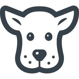 子犬の無料アイコン素材 1 商用可の無料 フリー のアイコン素材をダウンロードできるサイト Icon Rainbow