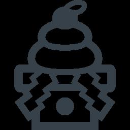 お正月の鏡餅のフリーアイコン 5 商用可の無料 フリー のアイコン素材をダウンロードできるサイト Icon Rainbow
