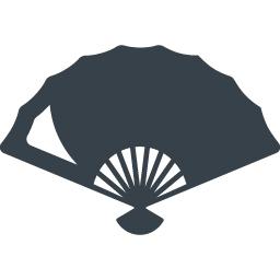 扇子の無料アイコン素材 3 商用可の無料 フリー のアイコン素材をダウンロードできるサイト Icon Rainbow