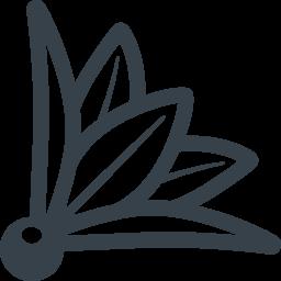 羽根突きの羽根のフリーアイコン 1 商用可の無料 フリー のアイコン素材をダウンロードできるサイト Icon Rainbow