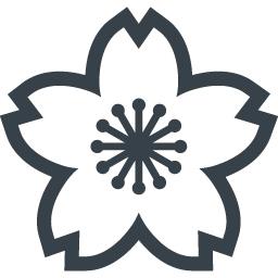桜の花の無料アイコン 2 商用可の無料 フリー のアイコン素材をダウンロードできるサイト Icon Rainbow