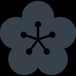 梅の花の無料アイコン素材 3 商用可の無料 フリー のアイコン素材をダウンロードできるサイト Icon Rainbow