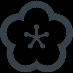 梅の花の無料アイコン素材 4 商用可の無料 フリー のアイコン素材をダウンロードできるサイト Icon Rainbow