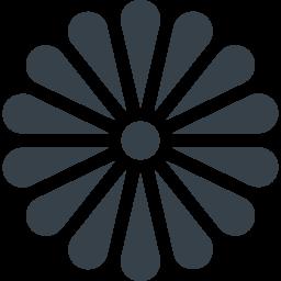 菊の花の無料アイコン素材 2 商用可の無料 フリー のアイコン素材をダウンロードできるサイト Icon Rainbow