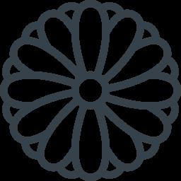 菊の花の無料アイコン素材 3 商用可の無料 フリー のアイコン素材をダウンロードできるサイト Icon Rainbow