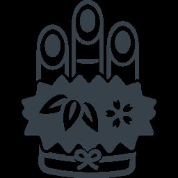 お正月の門松の無料アイコン素材 2 商用可の無料 フリー のアイコン素材をダウンロードできるサイト Icon Rainbow