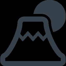日の出の富士山アイコン素材 2 商用可の無料 フリー のアイコン素材をダウンロードできるサイト Icon Rainbow