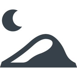 砂漠の夜の無料アイコン素材 商用可の無料 フリー のアイコン素材をダウンロードできるサイト Icon Rainbow
