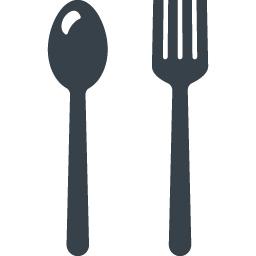 フォークとスプーンの食事のアイコン素材 3 商用可の無料 フリー のアイコン素材をダウンロードできるサイト Icon Rainbow