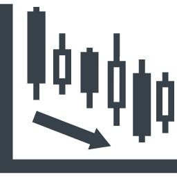 株 Fxの下落トレンドの無料アイコン素材 商用可の無料 フリー のアイコン素材をダウンロードできるサイト Icon Rainbow