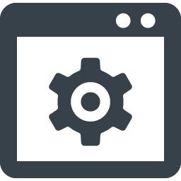 ブラウザの設定の無料アイコン素材 2 商用可の無料 フリー のアイコン素材をダウンロードできるサイト Icon Rainbow