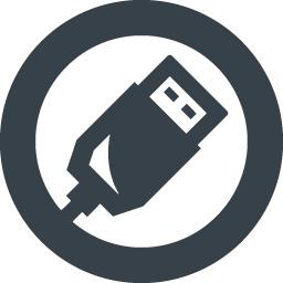 Usbのコネクター無料アイコン 2 商用可の無料 フリー のアイコン素材をダウンロードできるサイト Icon Rainbow