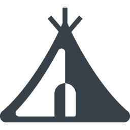 アウトドア用のテントの無料アイコン素材 3 商用可の無料 フリー のアイコン素材をダウンロードできるサイト Icon Rainbow