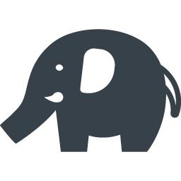 ゾウさんの無料アイコン素材 2 商用可の無料 フリー のアイコン素材をダウンロードできるサイト Icon Rainbow