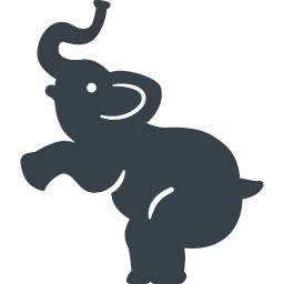 サーカスの象の無料アイコン 2 商用可の無料 フリー のアイコン素材をダウンロードできるサイト Icon Rainbow