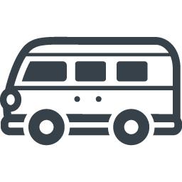 フォルクスワーゲン型のワゴン車の無料アイコン 1 商用可の無料 フリー のアイコン素材をダウンロードできるサイト Icon Rainbow