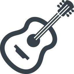 アコースティックギターの無料アイコン素材 2 商用可の無料 フリー のアイコン素材をダウンロードできるサイト Icon Rainbow