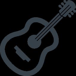 フリー素材 ギター Aiconicon