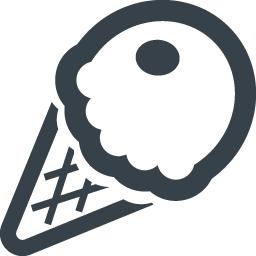 アイスクリームの無料アイコン素材 2 商用可の無料 フリー のアイコン素材をダウンロードできるサイト Icon Rainbow
