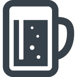 ビールのジョッキのアイコン素材 5 商用可の無料 フリー のアイコン素材をダウンロードできるサイト Icon Rainbow