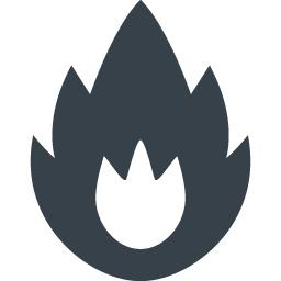 火のマークの無料アイコン素材 5 商用可の無料 フリー のアイコン素材をダウンロードできるサイト Icon Rainbow