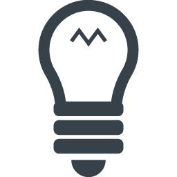 豆電球のアイコン素材 5 商用可の無料 フリー のアイコン素材をダウンロードできるサイト Icon Rainbow