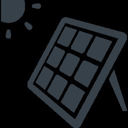 太陽光パネルの無料アイコン 2 商用可の無料 フリー のアイコン素材をダウンロードできるサイト Icon Rainbow