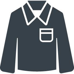 ポケットついたシャツの無料アイコン素材 2 商用可の無料 フリー のアイコン素材をダウンロードできるサイト Icon Rainbow