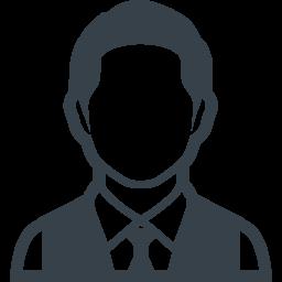 短髪のビジネスマンの無料アイコン素材 2 商用可の無料 フリー のアイコン素材をダウンロードできるサイト Icon Rainbow