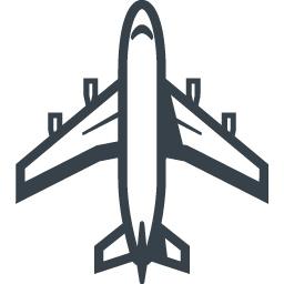 大型旅客機 飛行機 の無料アイコン素材 3 商用可の無料 フリー のアイコン素材をダウンロードできるサイト Icon Rainbow