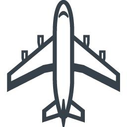 大型旅客機 飛行機 の無料アイコン素材 4 商用可の無料 フリー のアイコン素材をダウンロードできるサイト Icon Rainbow