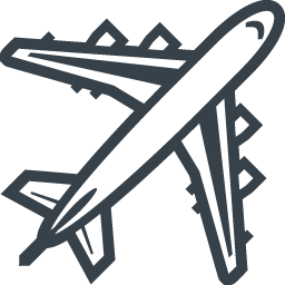 大型旅客機 飛行機 の無料アイコン素材 5 商用可の無料 フリー のアイコン素材をダウンロードできるサイト Icon Rainbow