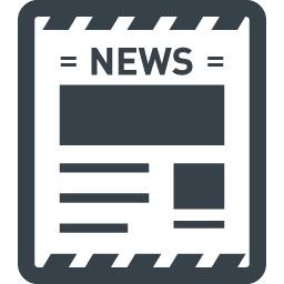 新聞の無料アイコン素材 2 商用可の無料 フリー のアイコン素材をダウンロードできるサイト Icon Rainbow