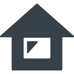 シンプルな家のフリーアイコン素材 1 商用可の無料 フリー のアイコン素材をダウンロードできるサイト Icon Rainbow