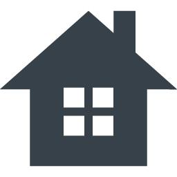 シンプルな家のフリーアイコン素材 3 商用可の無料 フリー のアイコン素材をダウンロードできるサイト Icon Rainbow